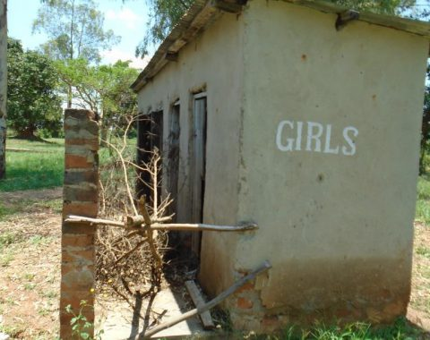 Amukurat girls latrine which is also out of use