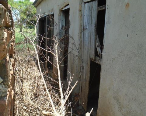 Amukurat girls latrine which is now out of use.